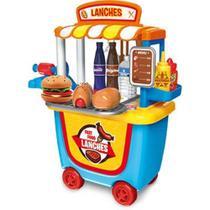 Tendinha Lanches  Fast Food com Rodinhas - Xalingo -