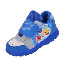 Tênis Bebê Infantil Baby Shark Azul Menino 081 - 1982 Shoes