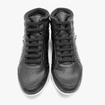 Tênis bota  kolosh cano curto cadarço elástico strass em napa feminino -