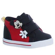 Tenis  Botinha Infantil Masculino Mickey meninos cano baixo - Lj