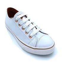 Tênis Capricho Feminino Like Class Branco/cobre Cp0542 -
