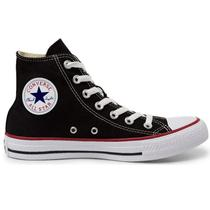127092d53b7c0 Tênis Converse All Star Chuck Taylor As Core HI Preto Vermelho CT00040007 -