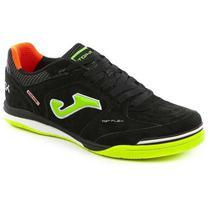 Tenis de futsal joma top flex nobuck 801 - preto -