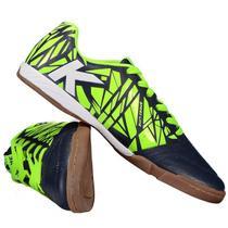 Tênis de Futsal Kelme Subito - Preto e Neon -