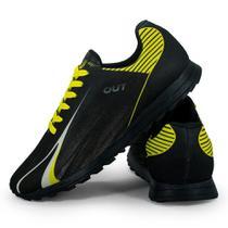 Tênis Esportivo Out Sport Amarelo e Preto -