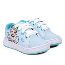 Tênis Infantil Disney Princesa Ciderela Feminino -