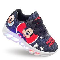 Tenis Infantil Mickey com Luzes de Led luzinha masculino - Pemania