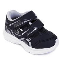 Tênis Infantil No Stress Running Velcro -