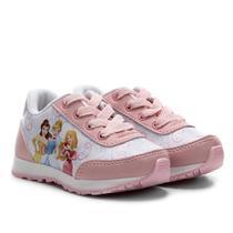 Tênis Jogging Infantil Disney Princesas Feminino -