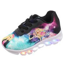 tênis LED luzinha infantil Barbie feminino - Pemania
