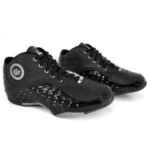 Tênis Masculino Basquete Cadarço Perfuros Conforto Dia a Dia - D&R Shoes