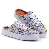 Tênis Mule Feminino Floral - Linder Shoes