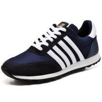 Tênis Sport Fit Top Franca Shoes Azul Marinho -