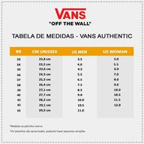 Tênis Vans Authentic - Tênis Vans Of The Wall Original