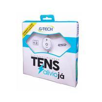 Tens Portátil Recarregável Eletroestimulador Alívio já G-tech -