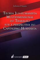 Teoria Jus-Humanista Multidimensional do Trabalho Sob A Perspectiva do Capitalismo Humanista - Lumen juris -