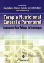 Terapia nutricional enteral e parenteral - Martinari