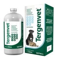 Tergenvet 250ml Limpeza Ferimentos Cães E Gatos Vetnil - Agropet Nutrimed