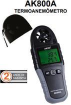 Termo anemometro digital profissional registro max min media - Akso