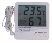 Termo Termômetro Higrômetro  Interno e Externo Máxima e Mínima 7663 - Incoterm