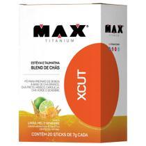 Termogênico XCUT 20 Unidades - Max Titanium -