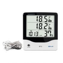 Termohigrômetro Digital Temperatura e Umidade Elitech BT-3 -