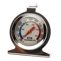 Termômetro Analógico Forno 300 Alta Qualidade Inox Com Base - Fratelli