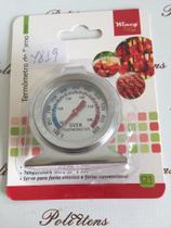Termômetro Analógico Forno 300 Forno Culinario Cozinha Inox - Wincy