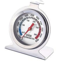 Termômetro Analógico Forno e Churrasqueira 300º com Base Aço Inox - Clink