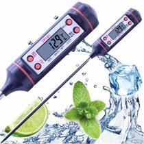 Termometro culinário digital de cozinha com capa protetora - Dasshaus