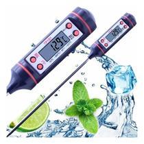 Termômetro Culinário Digital Espeto Alimento Cozinha Liquido - Liba