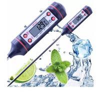 Termômetro Culinário Digital Espeto Alimento Cozinha -