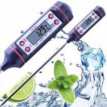 Termômetro Culinário Digital Espeto Para Alimento Cozinha Tp101 - Lca