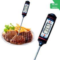 Termômetro Culinário Tipo Espeto Digital De Cozinha - Boni -