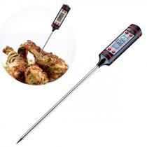Termometro de Cozinha Digital Multi-funcoes Mede de 50 C Ate 300 C Prana -