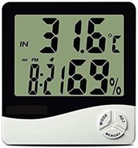 Termômetro De Máxima E Mínima Digital Com Higrômetro - Zem