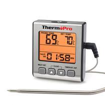 Termômetro digital alimentos com cabo Thermopro TP-16S -