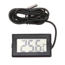 Termômetro Digital Aquário Freezer Chocadeira Preto -50110 - LCA