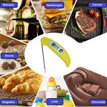 Termômetro Digital Culinário Dobravel Cozinha Comida Bebida - Xtrad