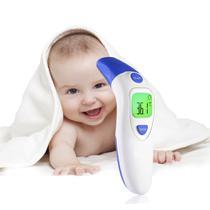 Termômetro Digital Infantil de Testa e Ouvido Febre Corporal - Boas