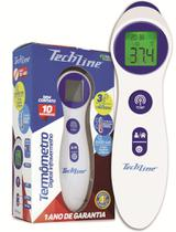 Termômetro Digital Infravermelho de Testa Sem Contato - Techline - TSC400 -