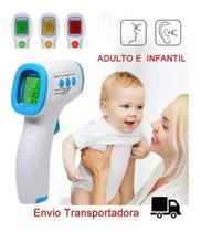 Termômetro Digital Infravermelho Febre Adulto E Infantil - Store 7D