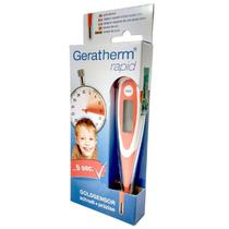 Termômetro Digital Rapid Haste Flexível 9 Segundos - Geratherm -
