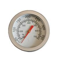 Termometro Especial Para Churrasqueira A Bafo E Defumador - Real