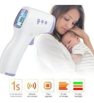Termômetro Laser Digital Infravermelho Febre Adulto Bebe - Dk. Term.