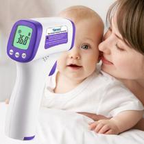Termometro Laser Digital Infravermelho Febre De Testa Bebe Adulto E Infantil - Simzo