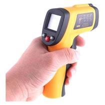 Termômetro LASER Digital Infravermelho Industrial Cozinha Culinário Temperatura -50º-380º - Outros