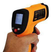 Termômetro Laser Digital Infravermelho Temperatura -50º 420º - Feir