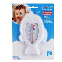 Termômetro para Banho Peixinho Branco Love -