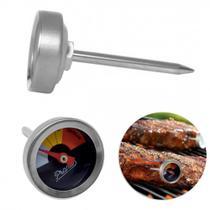 Termometro para Carnes em Inox Marca o Ponto da Carne  Prana -